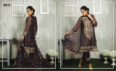 5 Mossii By Nawab Winter Dresses 2018