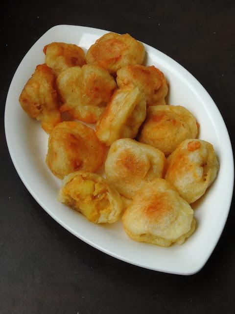 Mauritian Channa Puri, Channadal Potato Dumplings