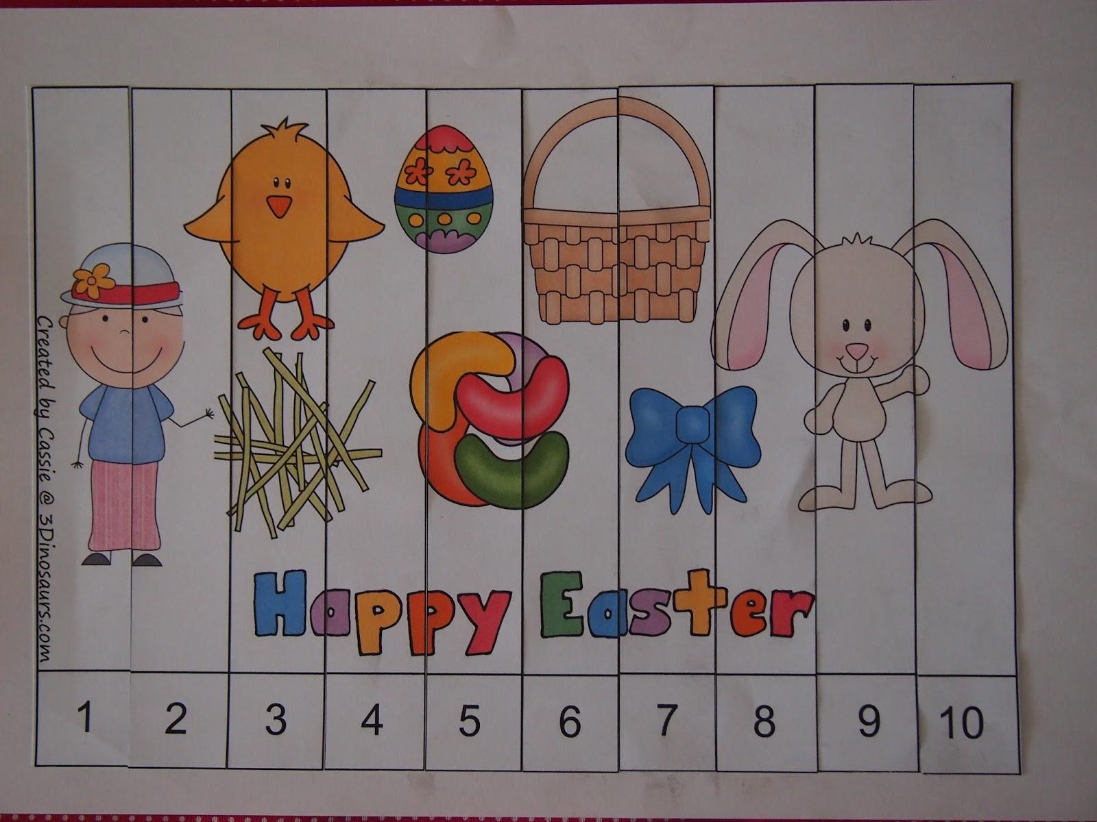 Easter Day Worksheet