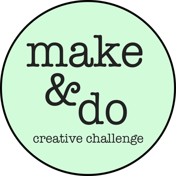 logo for the make and do creative challenge for March