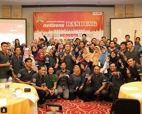 Ketua MPR dan Blogger Bandung