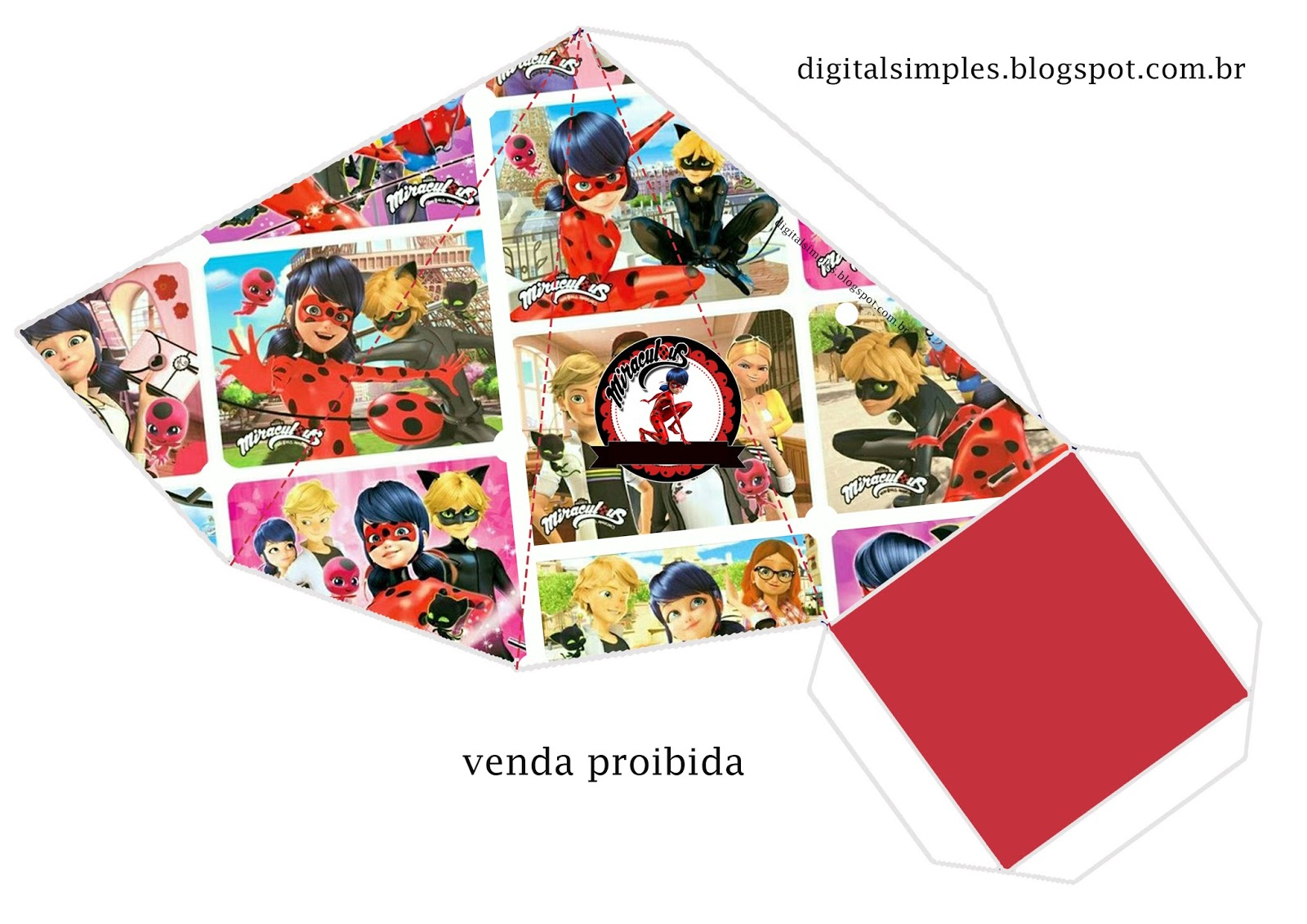 Miraculous Ladybug Free Printable Boxes Oh My Fiesta