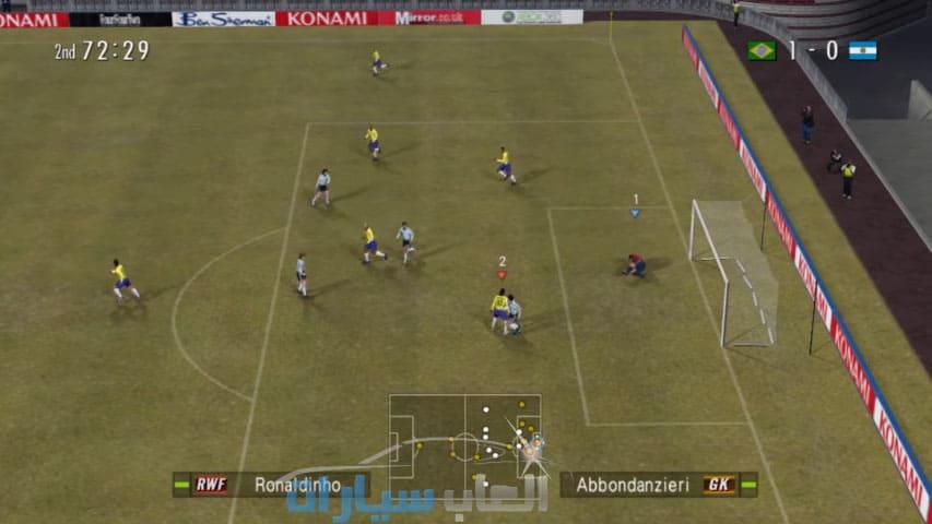 تحميل لعبة PES 6 للكمبيوتر
