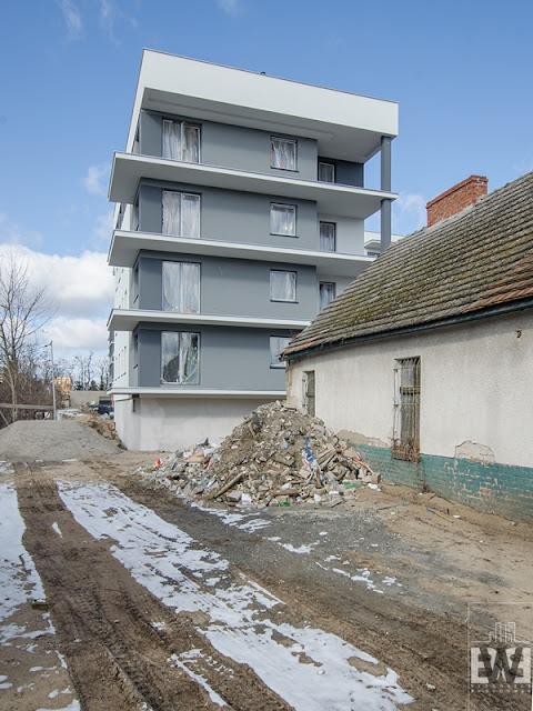 Ptasie Ogrody, inwestycja firmy PSM przy ulicy Gołębiej na Górzyskowie w Bydgoszczy