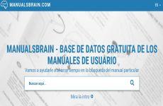Manuals Brain: sitio web con manuales de usuario de miles de productos para descargar gratis