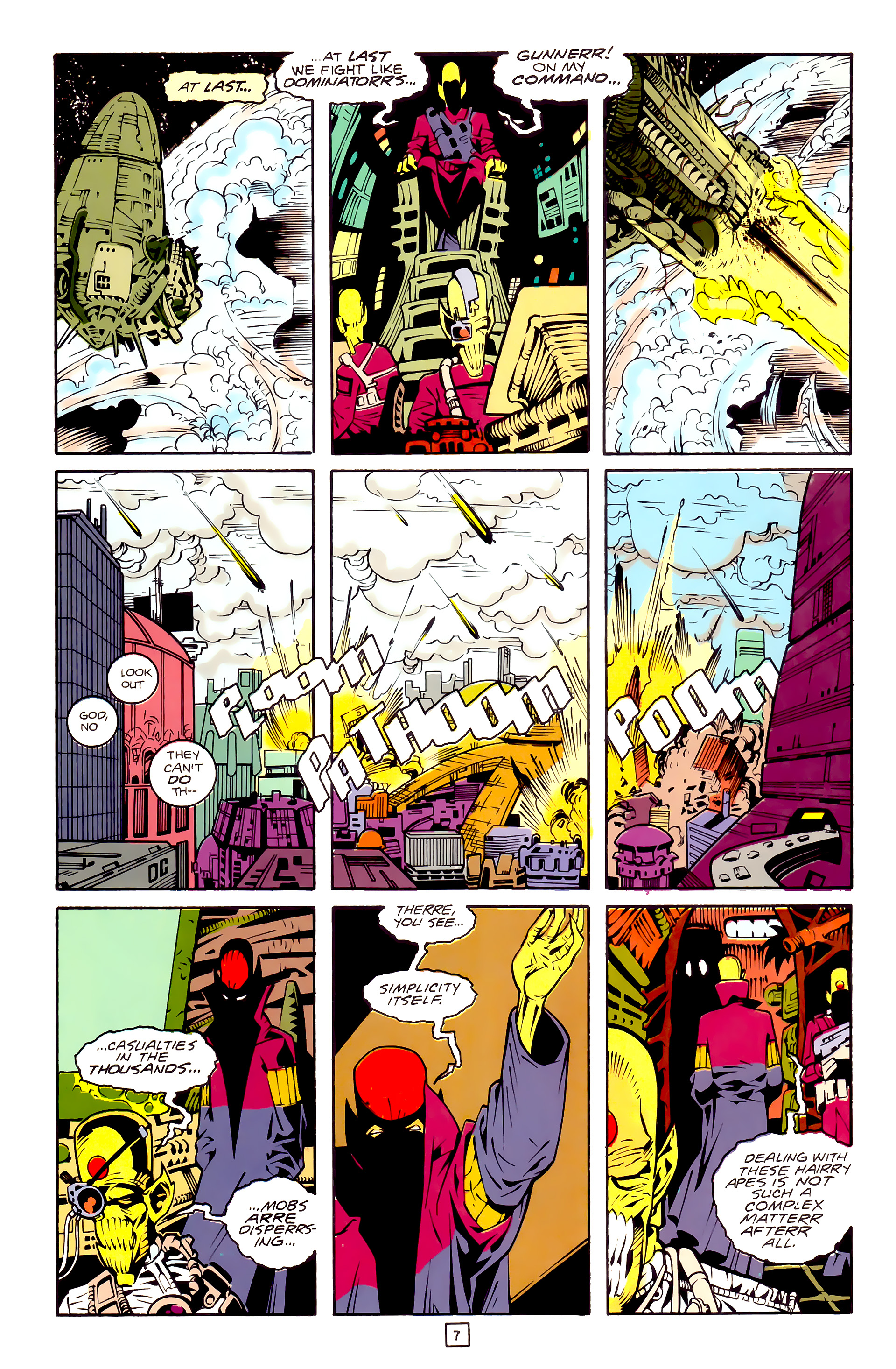Legion of Super-Heroes (1989) 30 Page 7