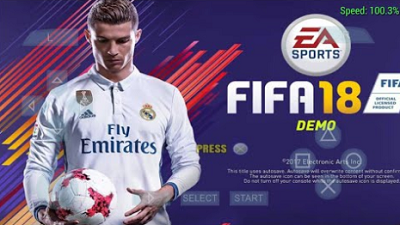 Download game PPSSPP FIFA 18 ISO