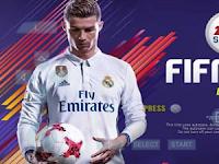 Download game PPSSPP FIFA 18 ISO + Save Data Terbaru Gratis
