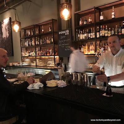 bar at Donato & Co. in Berkeley, California