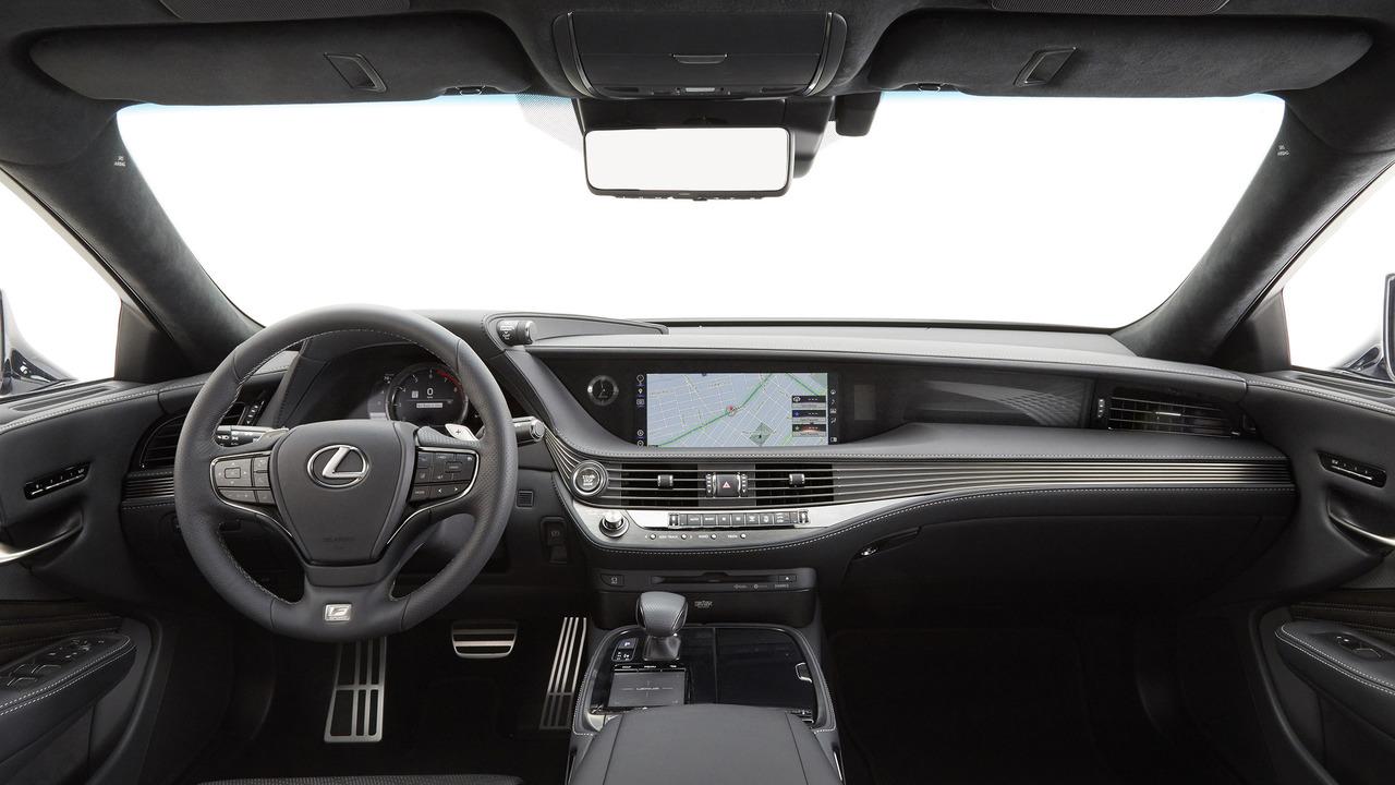 Nội thất sang trọng của Lexus LS500 2018
