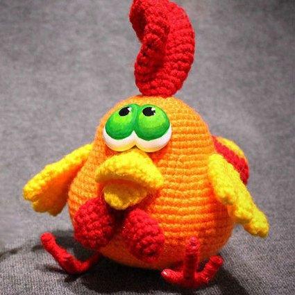 PATTERN Crochet Zodiac Rooster Amigurumi | Etsy | 425x425