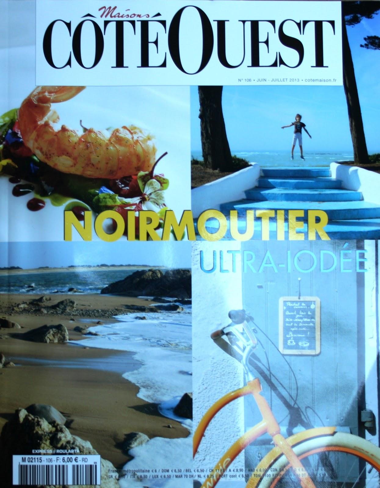magazine c t ouest d di noirmoutier noirmoutier. Black Bedroom Furniture Sets. Home Design Ideas