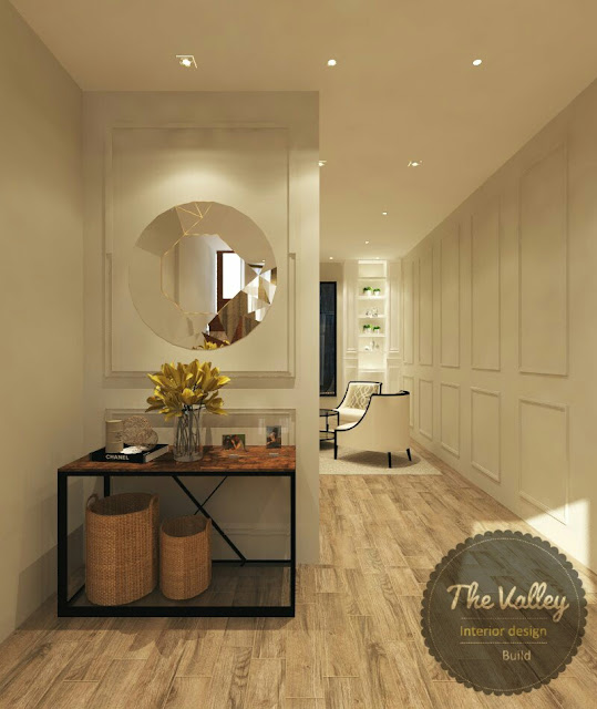 Desain Interior Koridor Rumah The Valley Interior Design