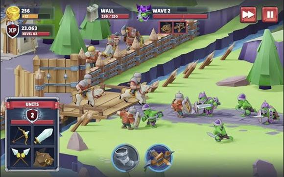 Game of Warriors Mod Apk Unlimited Money Terbaru