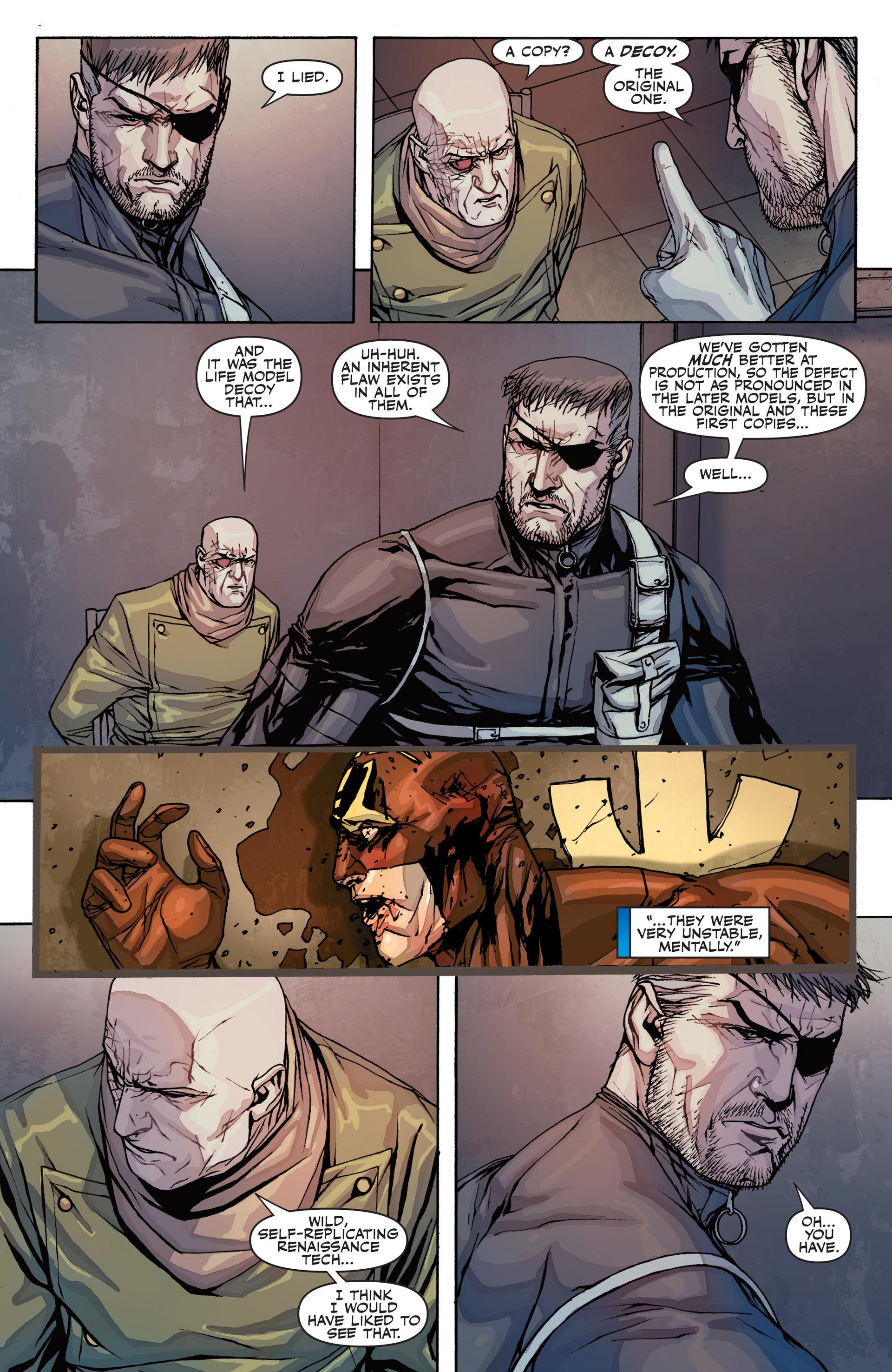Read online Secret Warriors comic -  Issue #26 - 22