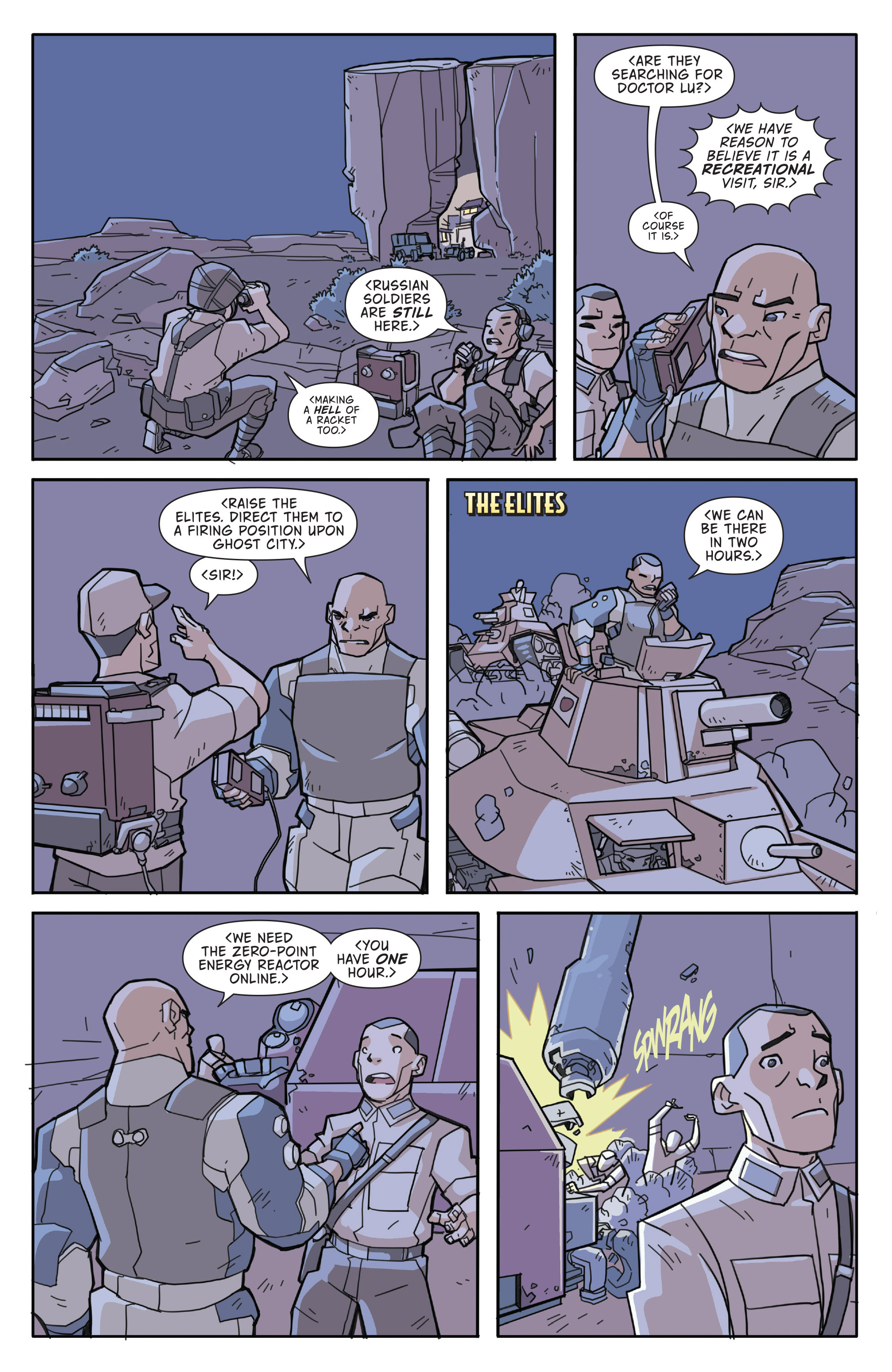 Read online Atomic Robo and the Temple of Od comic -  Issue #3 - 17