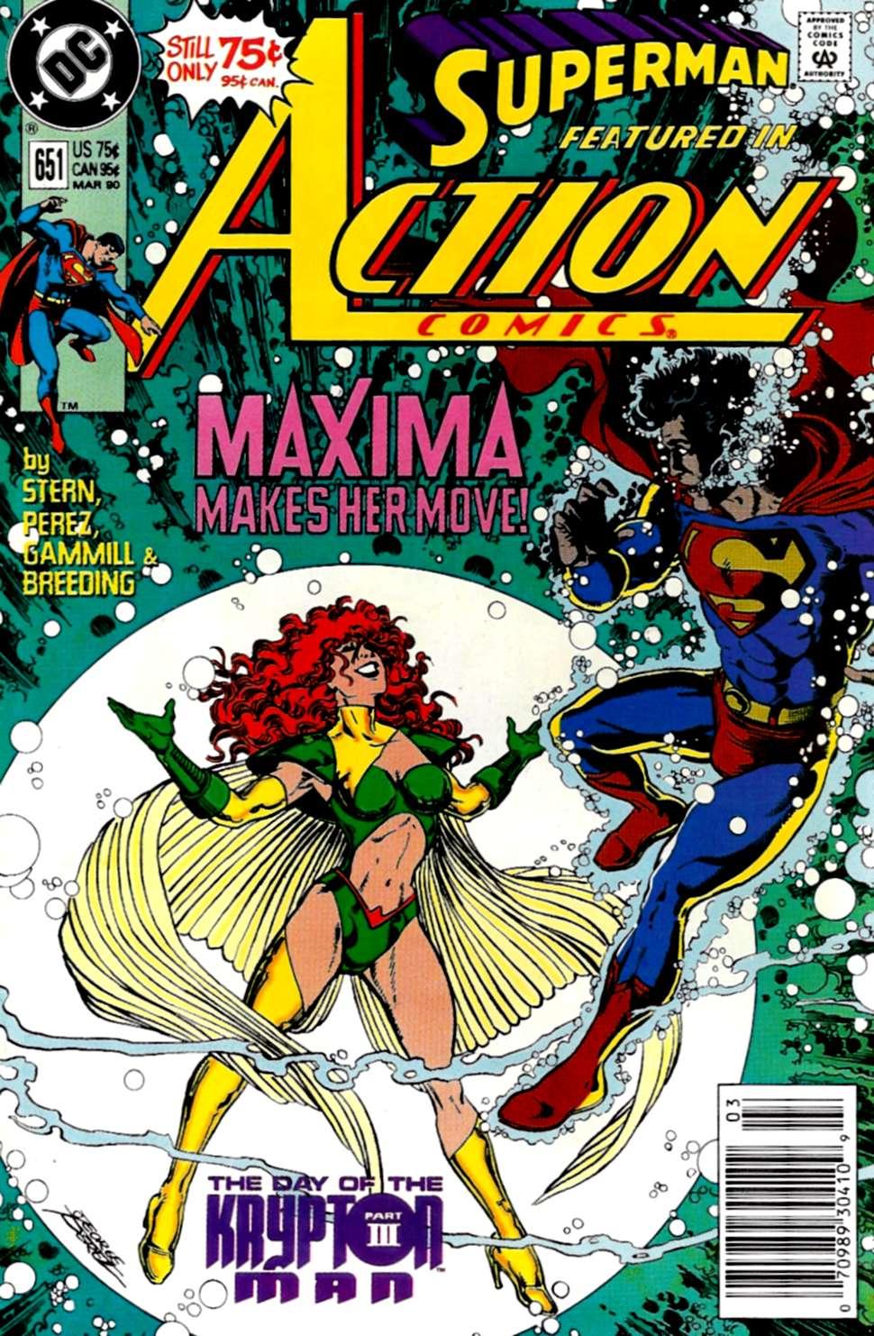 Action Comics (1938) 651 Page 1
