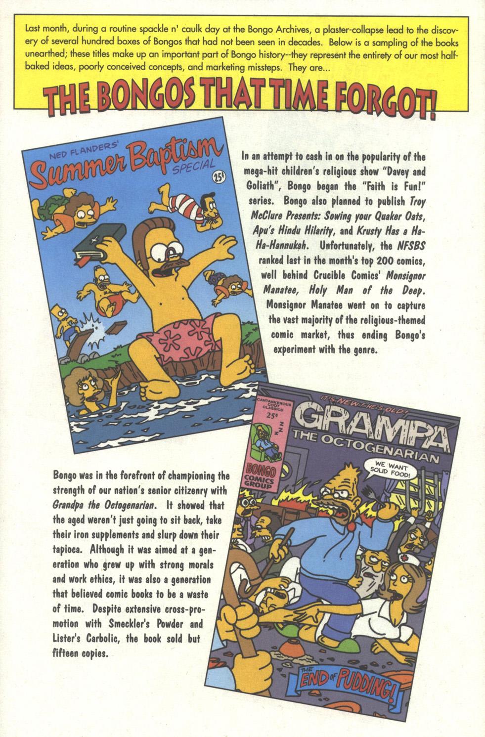 Read online Simpsons Comics comic -  Issue #32 - 26