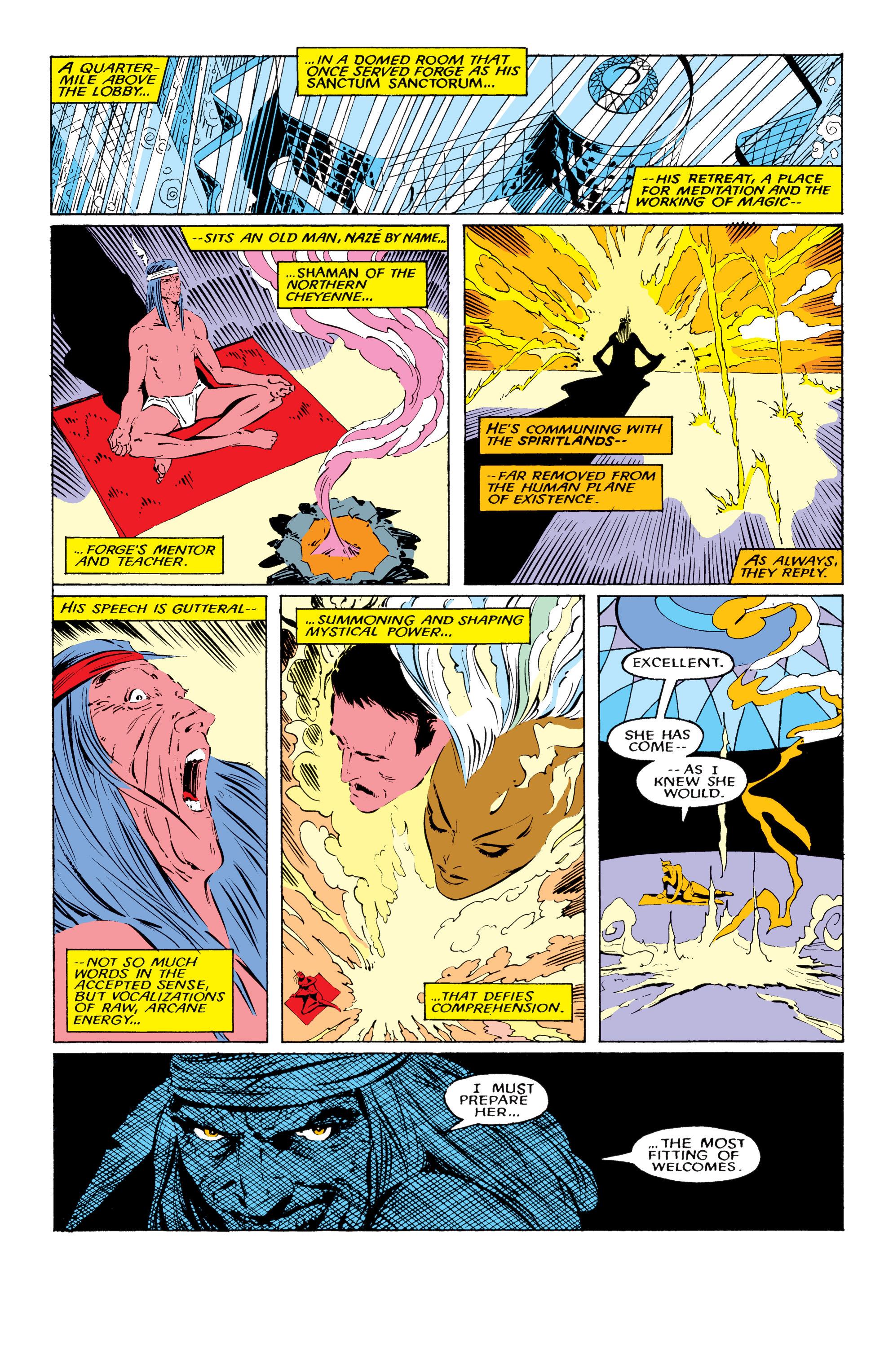 Read online Uncanny X-Men (1963) comic -  Issue #220 - 10