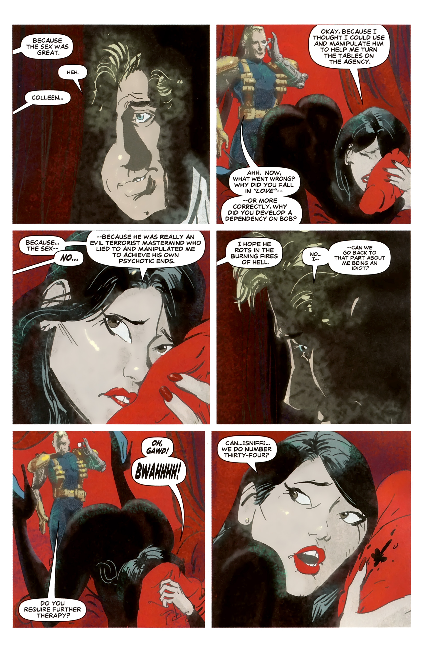 Read online Deadpool MAX X-Mas Special comic -  Issue # Full - 18