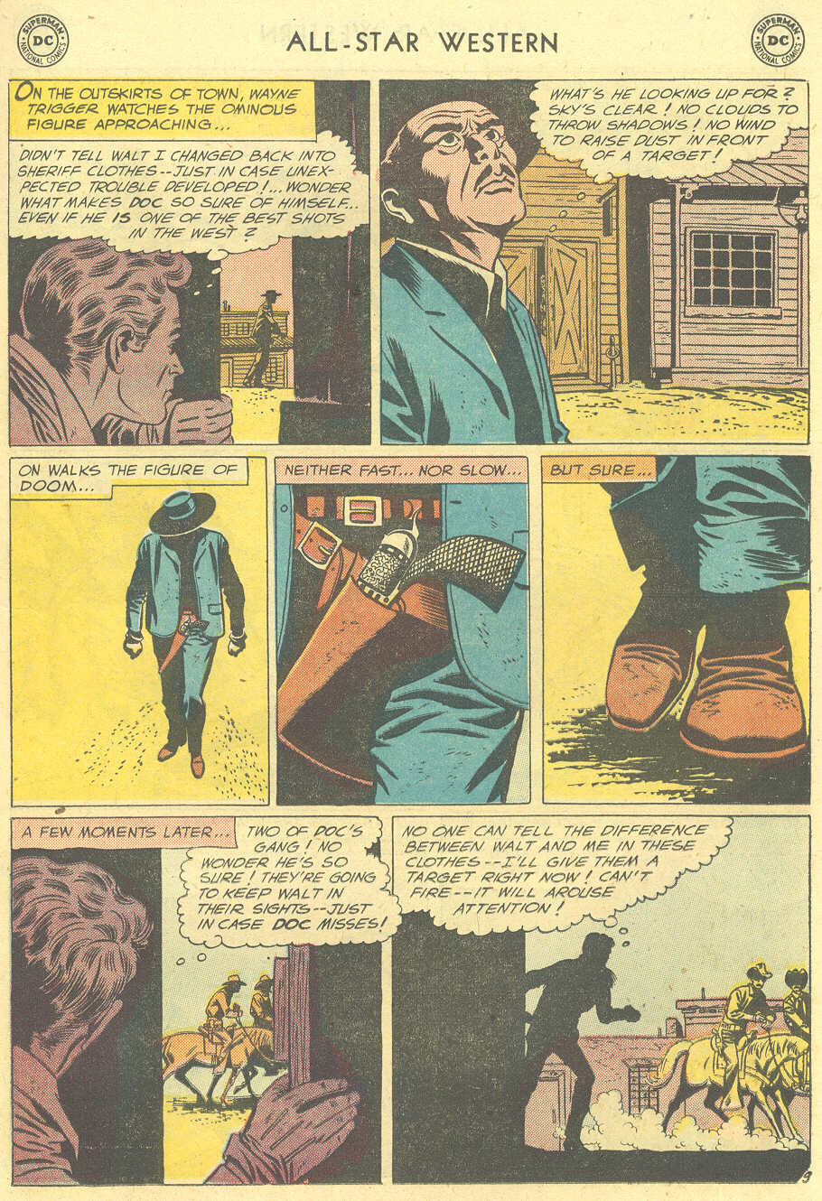 Read online All-Star Western (1951) comic -  Issue #101 - 11