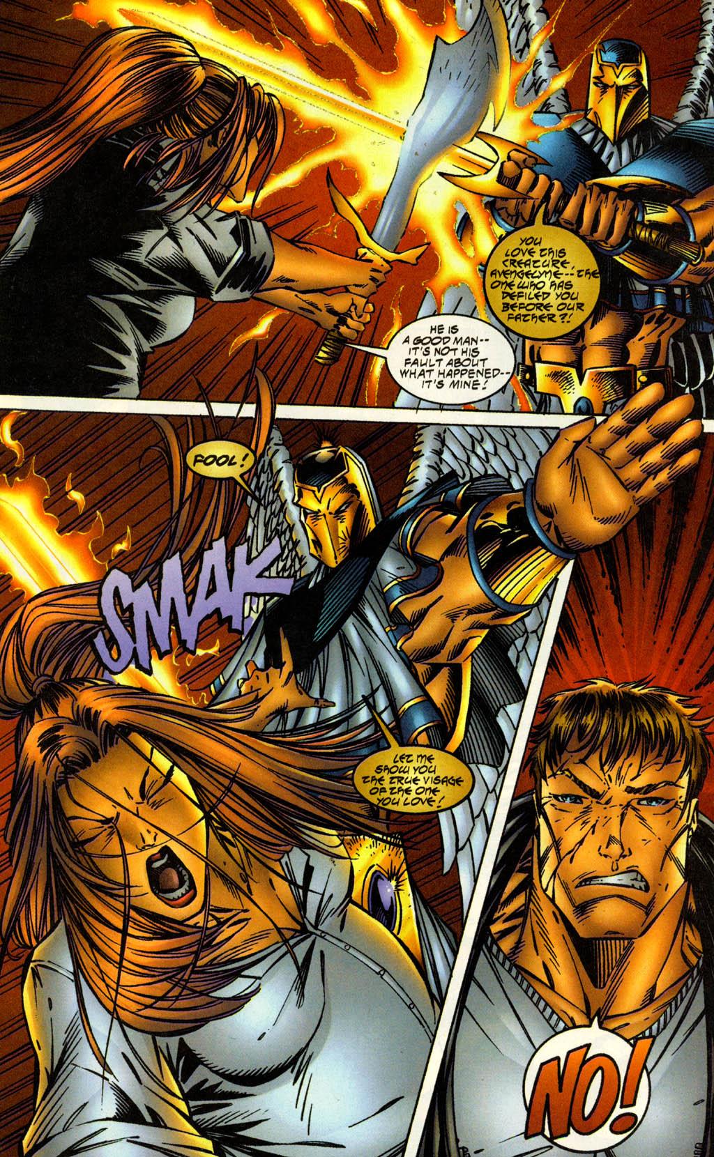 Read online Avengelyne (1996) comic -  Issue #2 - 18