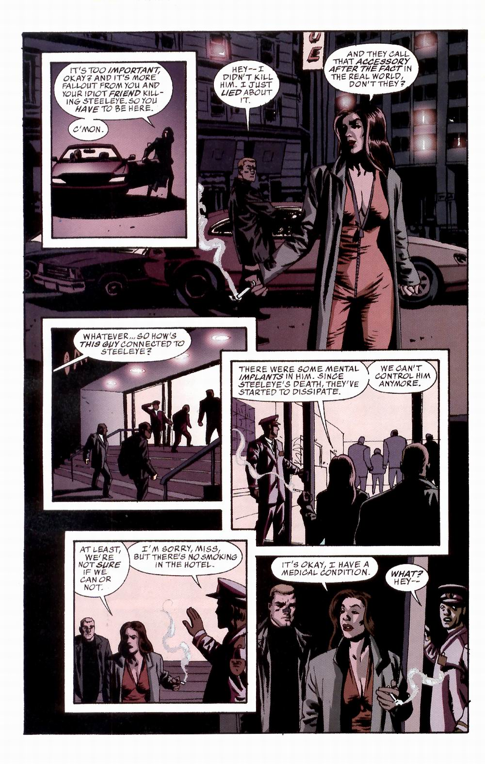 Read online Sleeper comic -  Issue #3 - 9