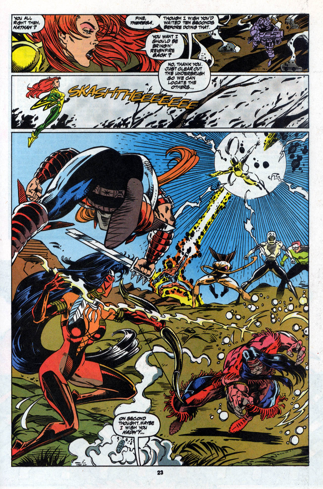 Read online X-Force (1991) comic -  Issue #28 - 24