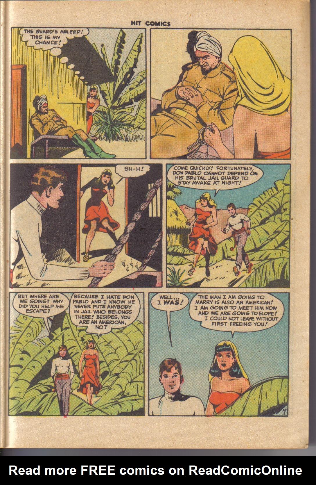 Read online Hit Comics comic -  Issue #45 - 9