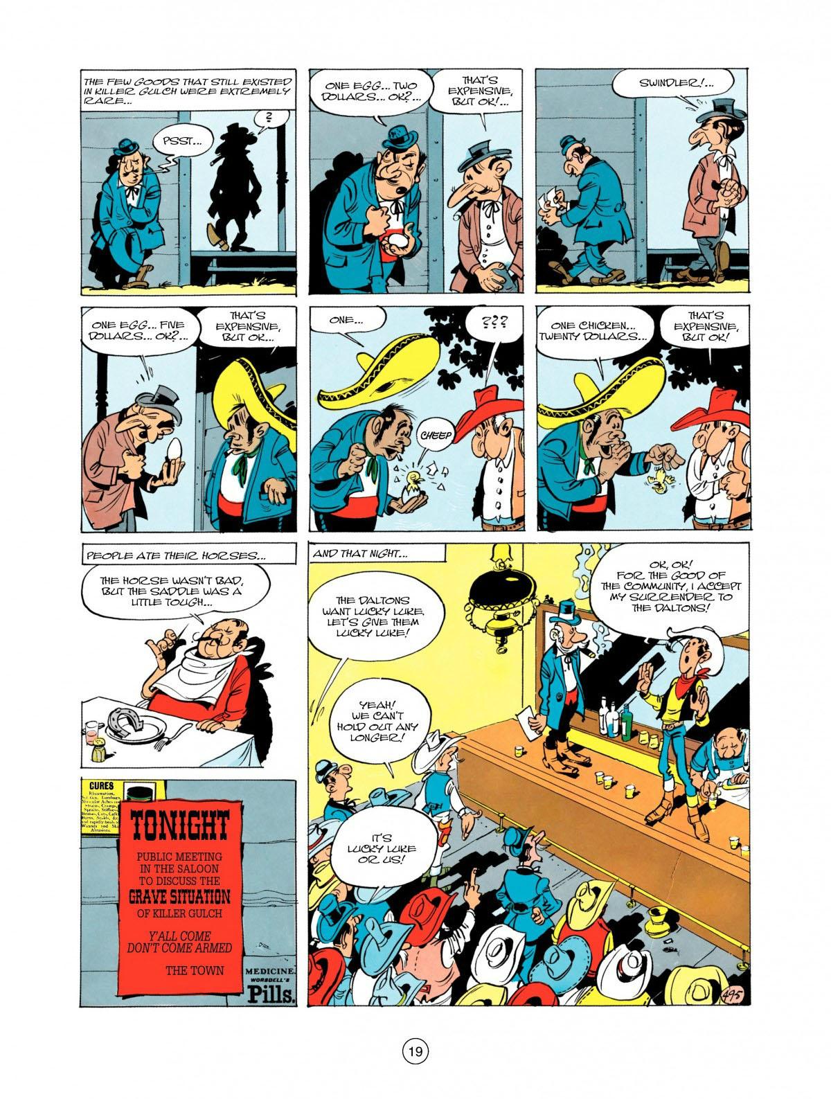 Read online A Lucky Luke Adventure comic -  Issue #28 - 20
