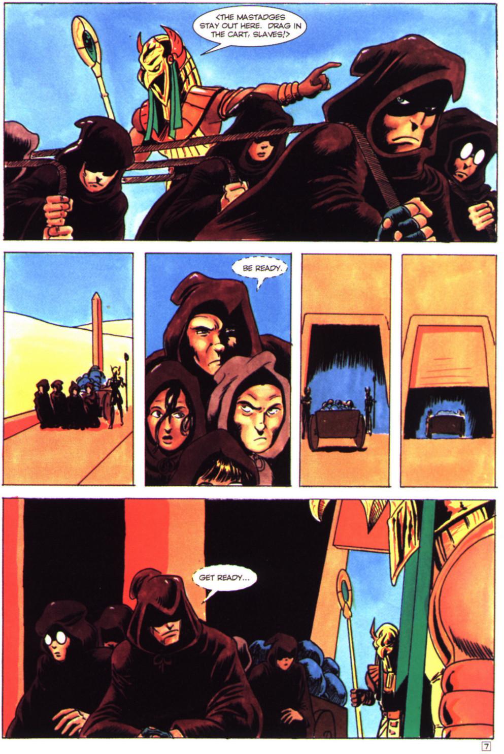 Read online Stargate comic -  Issue #4 - 9