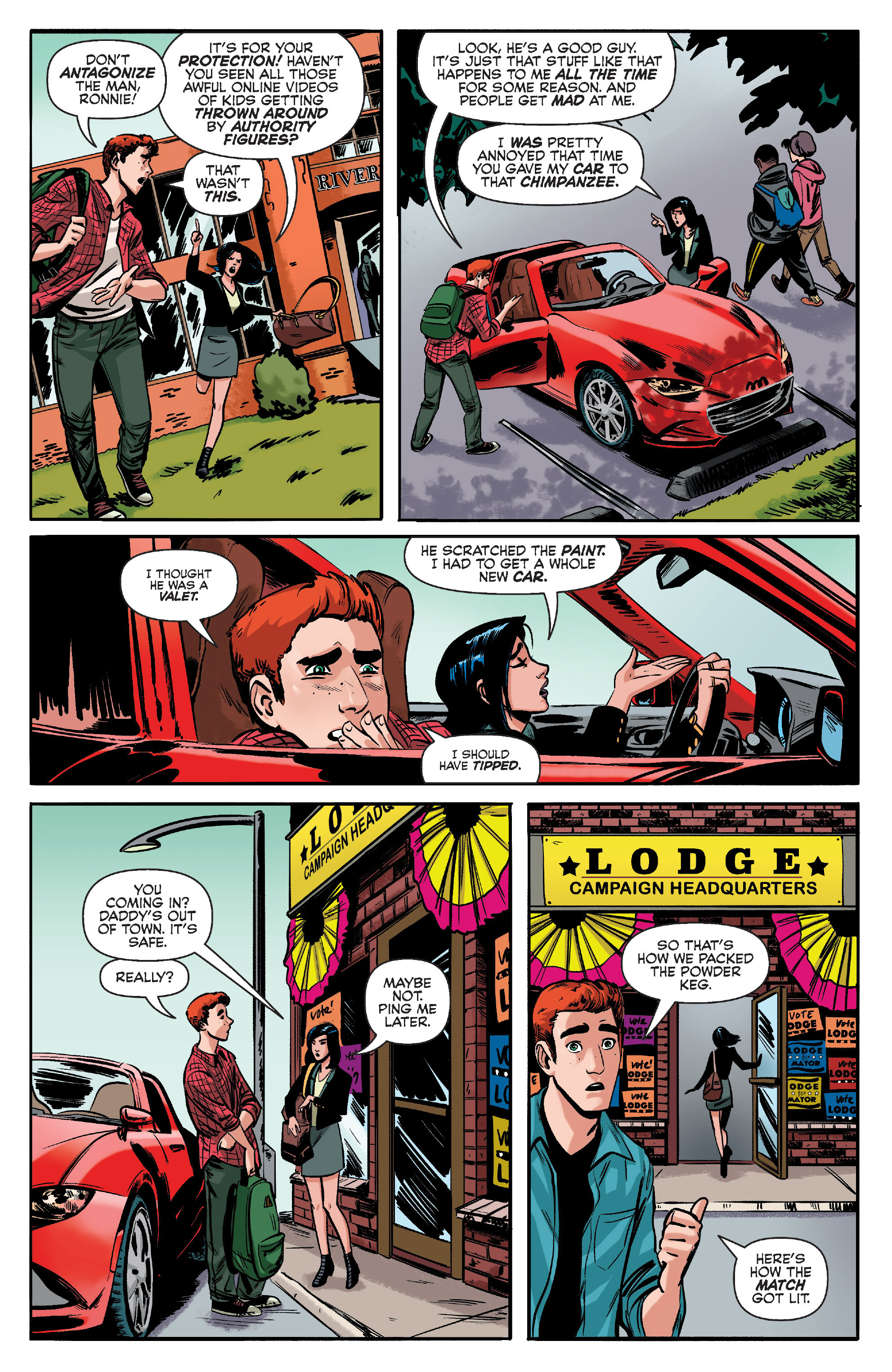 Read online Archie (2015) comic -  Issue #10 - 8