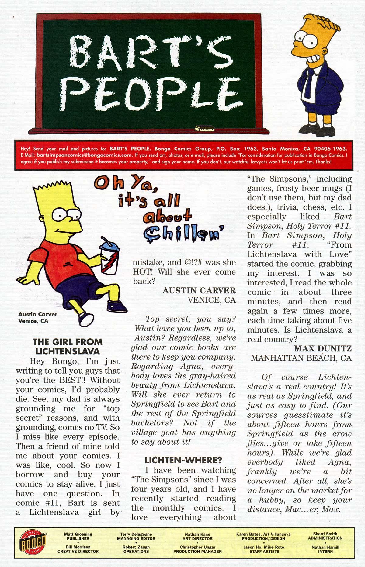 Read online Simpsons Comics Presents Bart Simpson comic -  Issue #13 - 34