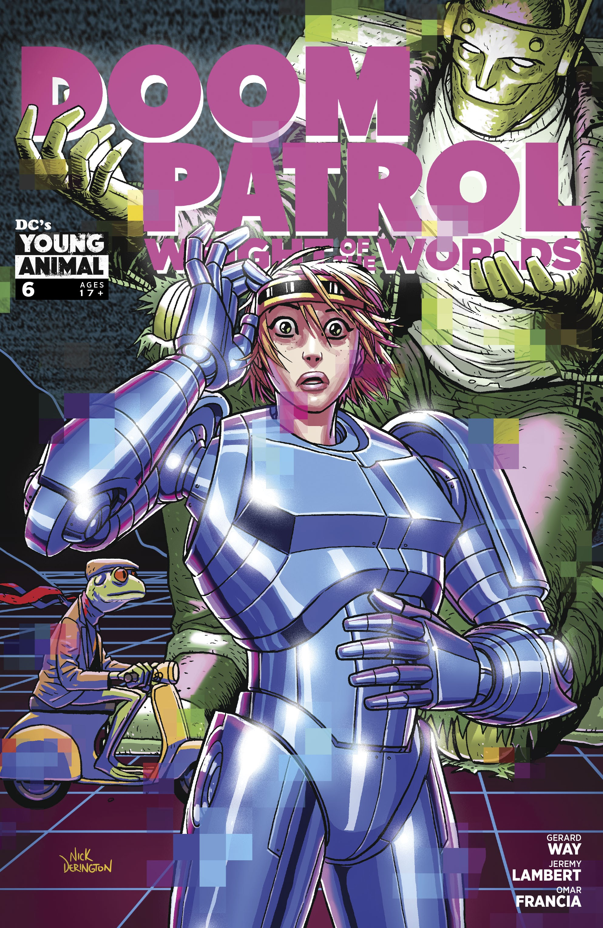 Doom Patrol: Weight of the Worlds 6 Page 1
