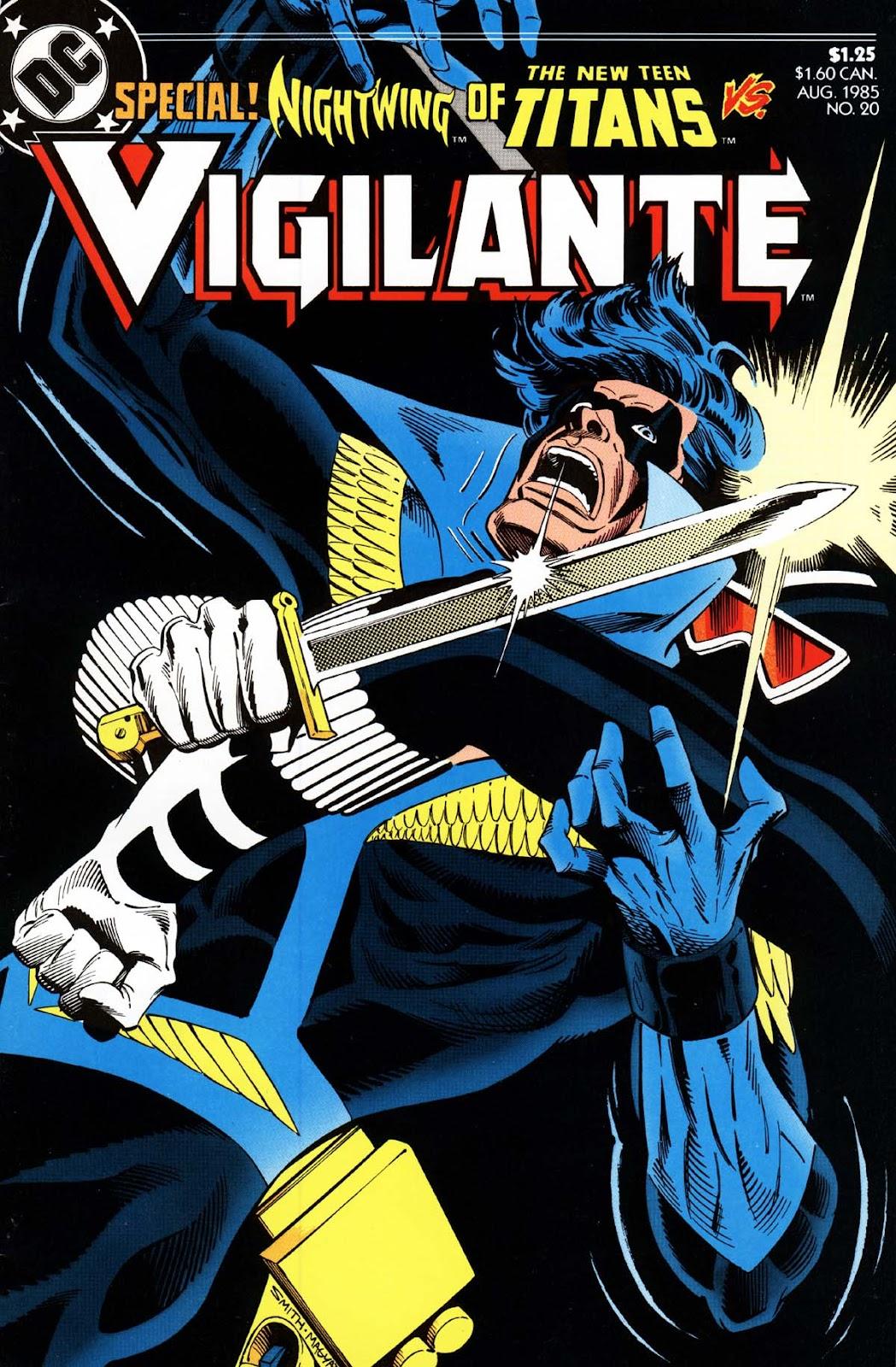 Vigilante (1983) issue 20 - Page 1