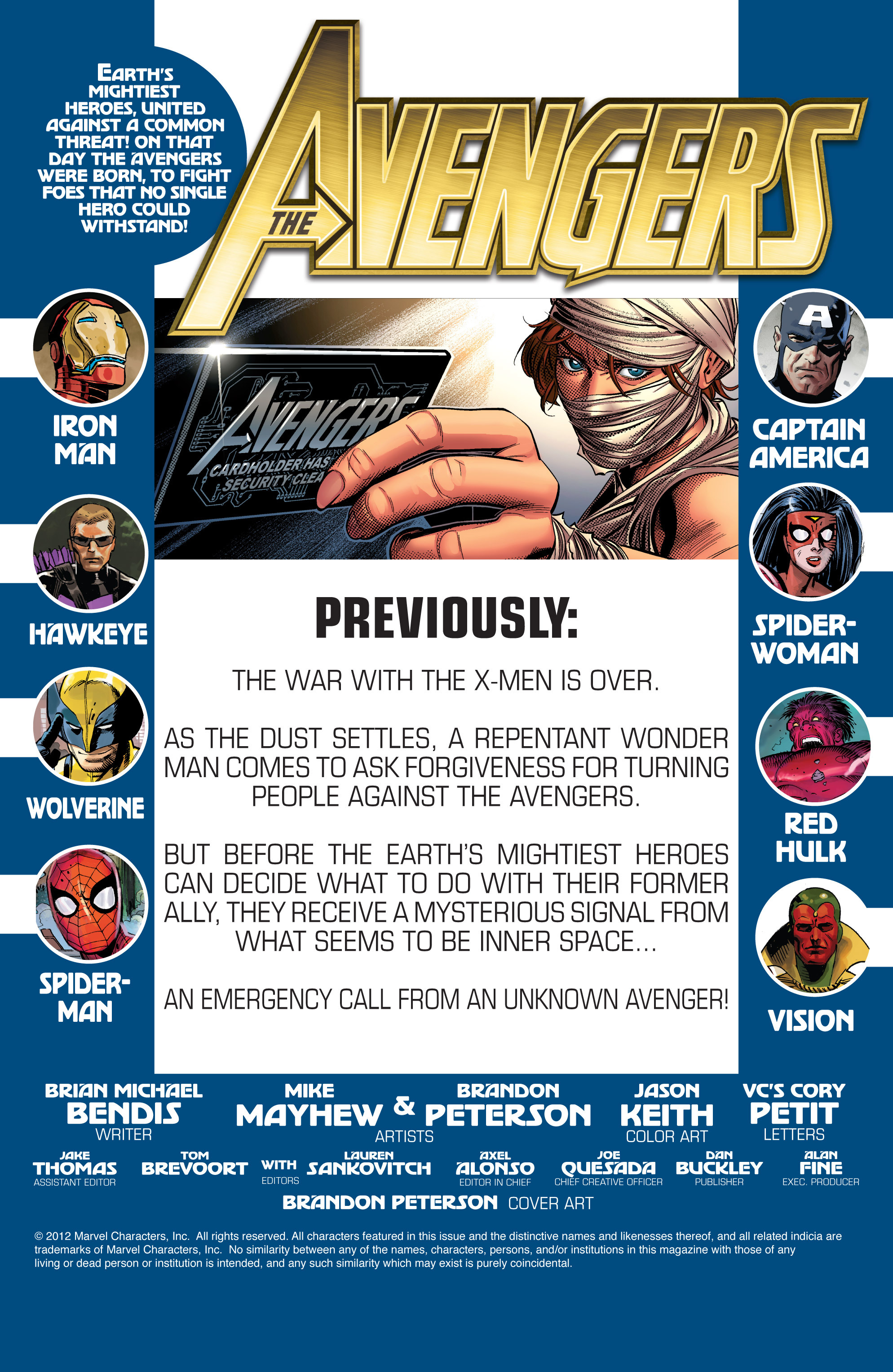 Read online Avengers (2010) comic -  Issue #32 - 2