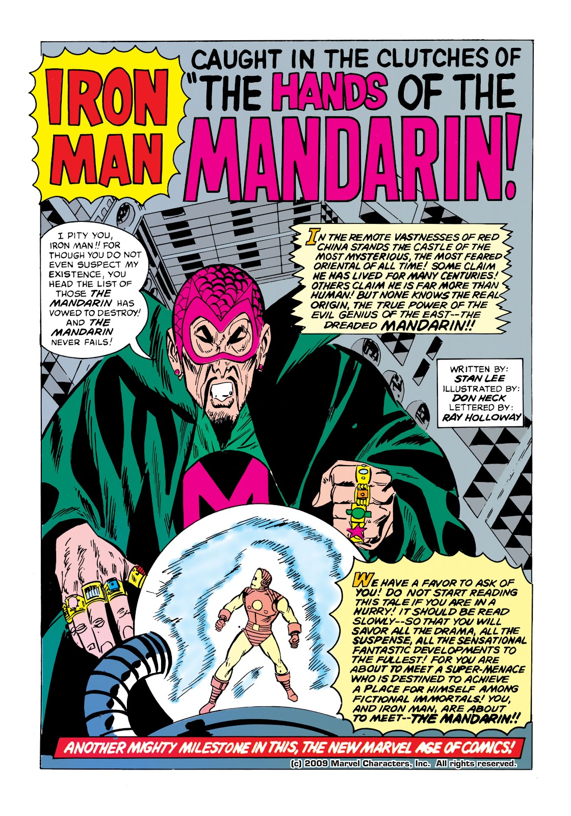 Read online Marvel Masterworks: The Invincible Iron Man comic -  Issue # TPB 1 (Part 2) - 78
