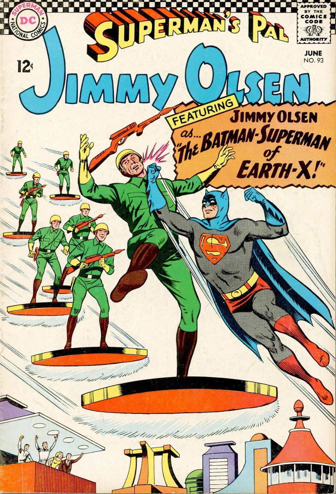 Supermans Pal Jimmy Olsen (1954) 93 Page 1
