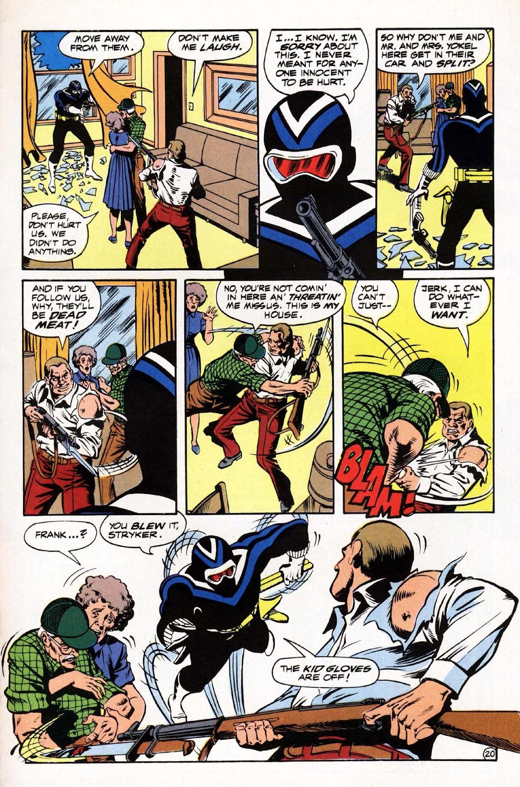 Vigilante (1983) issue 3 - Page 21