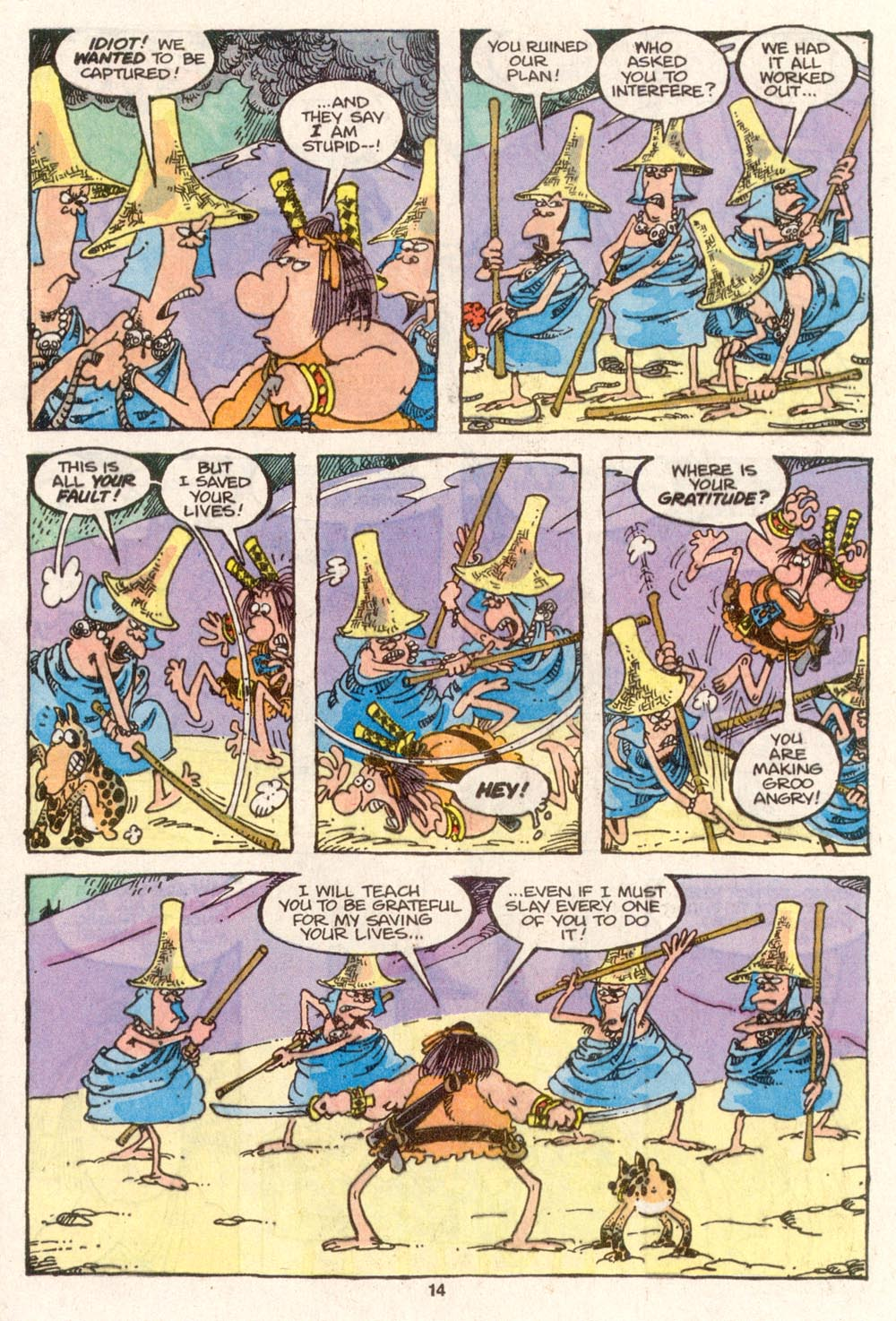 Read online Sergio Aragonés Groo the Wanderer comic -  Issue #79 - 10
