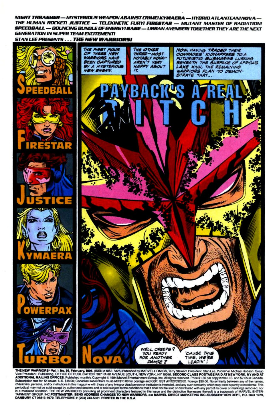 The New Warriors Issue #56 #60 - English 2