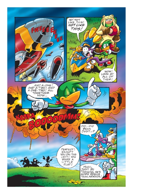 Read online Sonic Comics Spectacular: Speed of Sound comic -  Issue # Full - 186