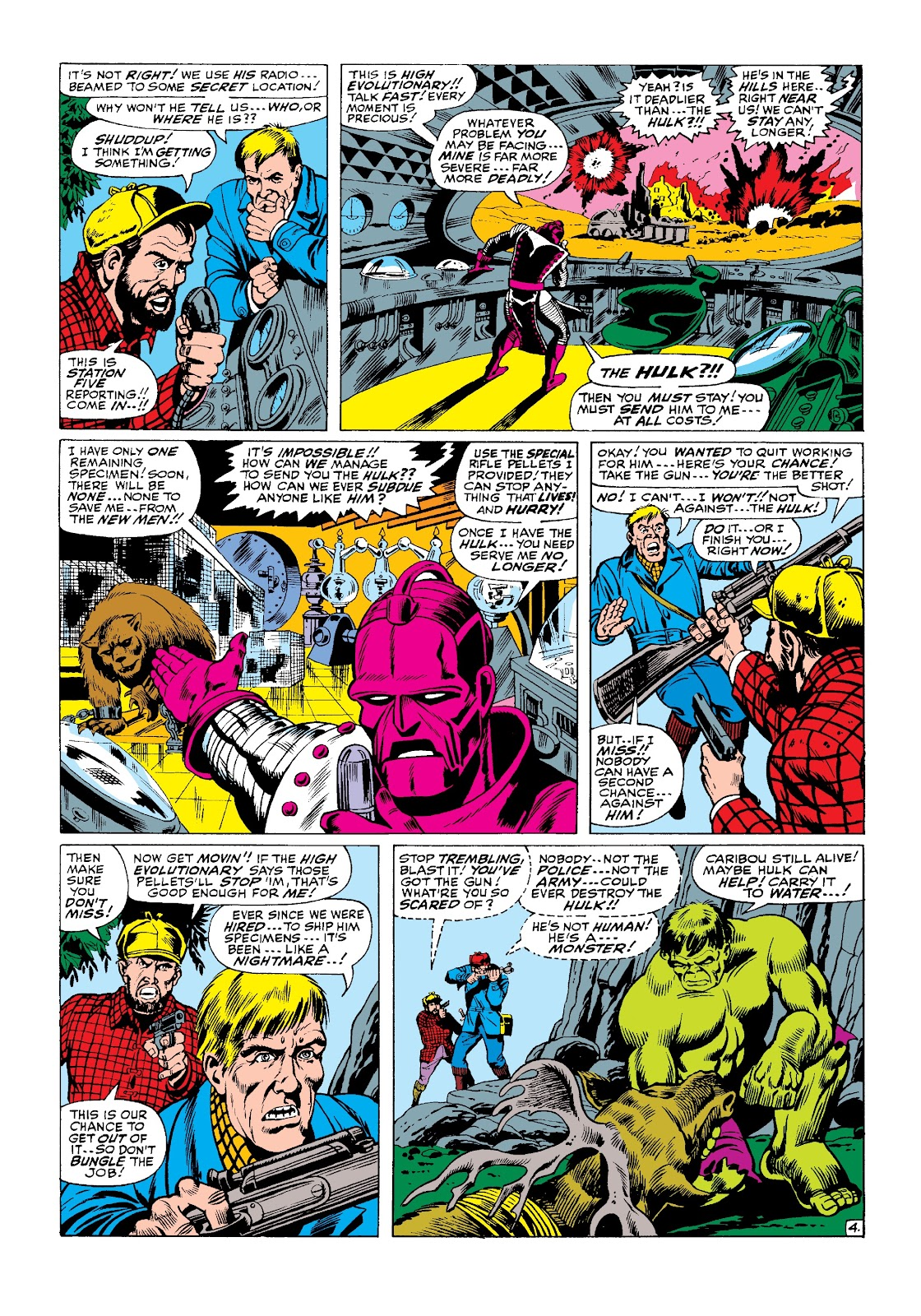 Read online Marvel Masterworks: The Incredible Hulk comic -  Issue # TPB 3 (Part 2) - 65