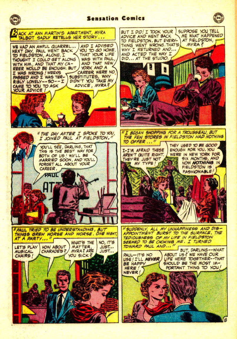 Read online Sensation (Mystery) Comics comic -  Issue #99 - 46