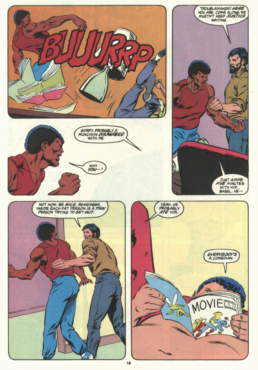 Read online Justice (1986) comic -  Issue #28 - 20