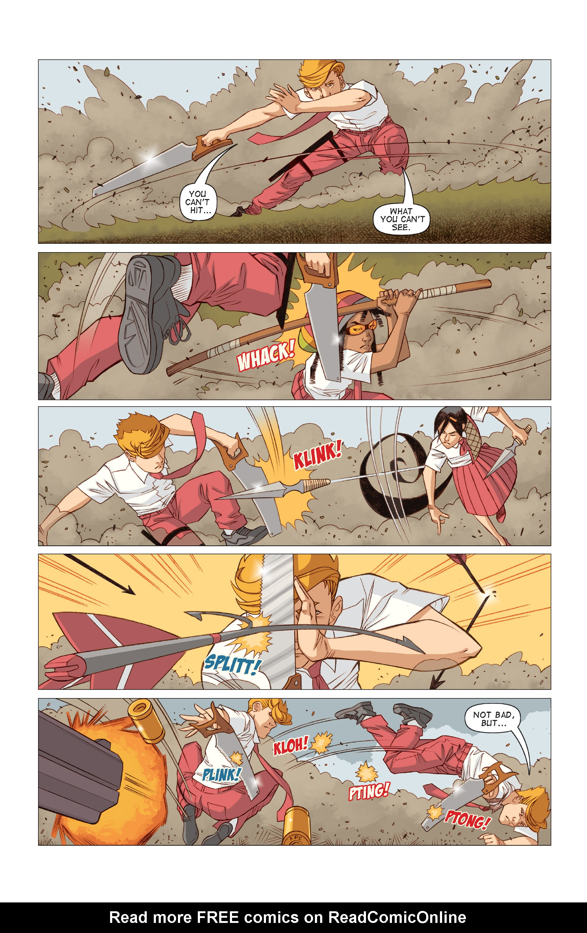 Read online Five Weapons comic -  Issue #9 - 22
