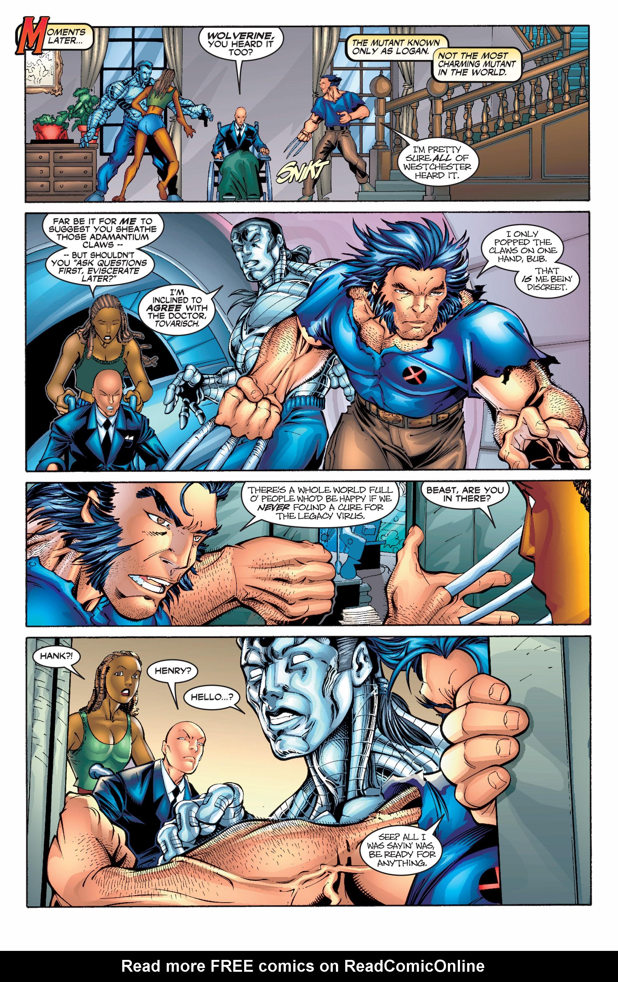 Read online Uncanny X-Men (1963) comic -  Issue #390 - 5