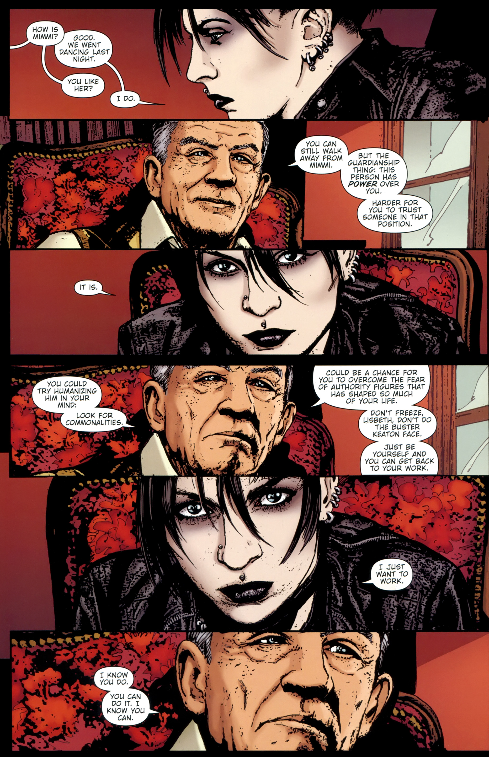 Read online The Girl With the Dragon Tattoo comic -  Issue # TPB 1 - 85