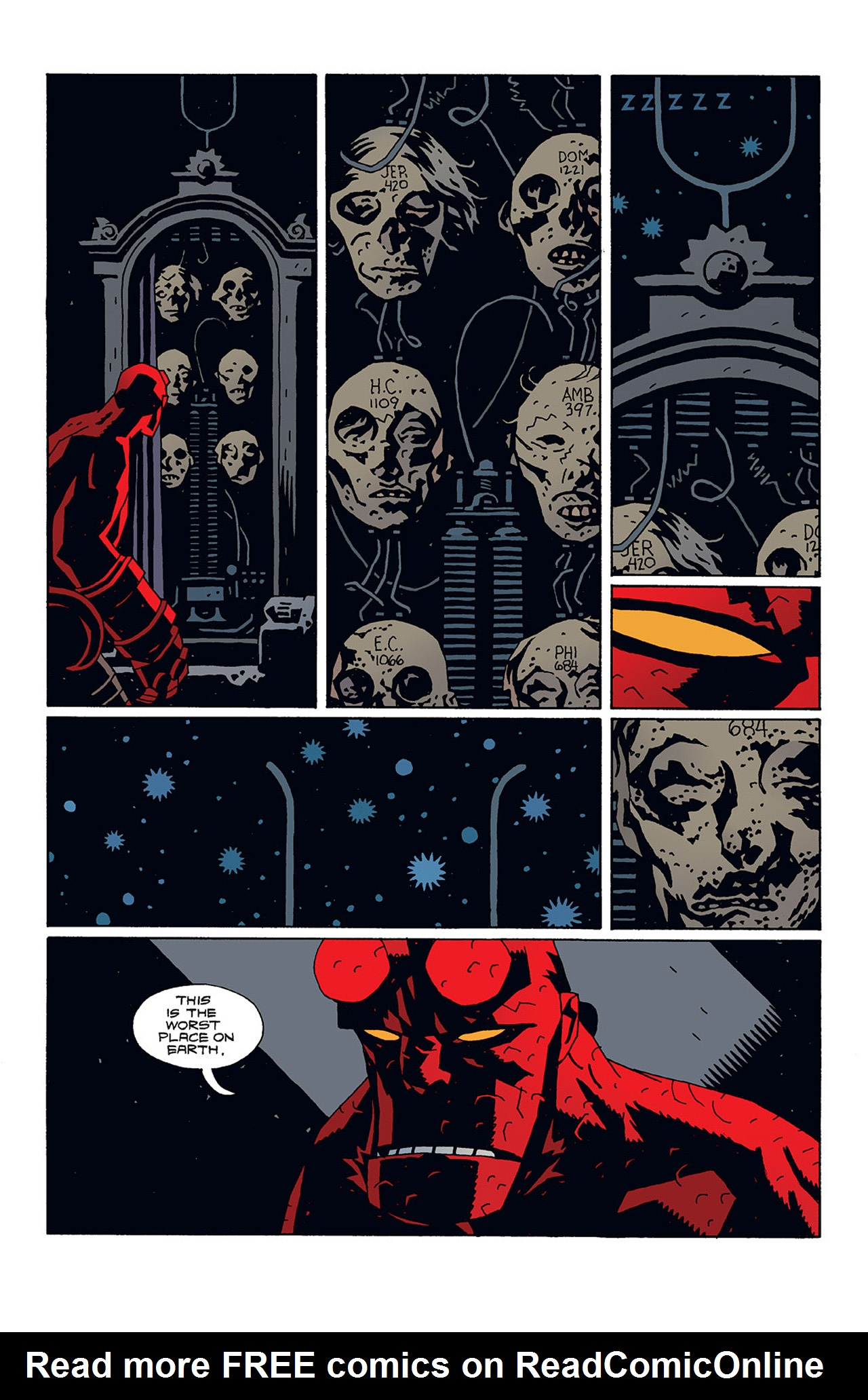 Read online Hellboy: Conqueror Worm comic -  Issue #3 - 20