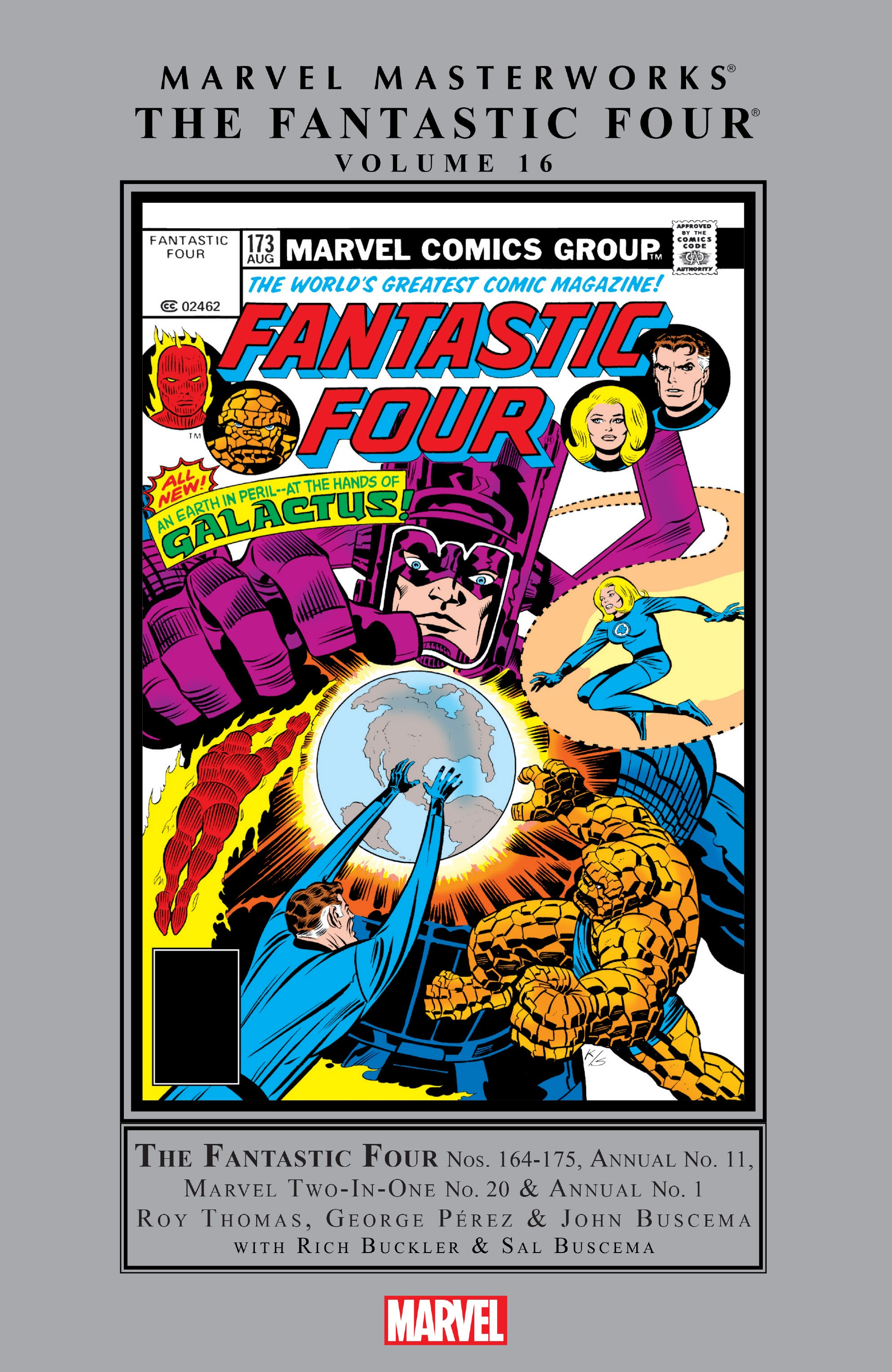 Marvel Masterworks: The Fantastic Four issue TPB_16_(Part_1) - Page 1